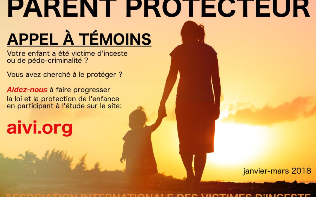 Appel à témoins de l'AIVI : parents protecteurs
