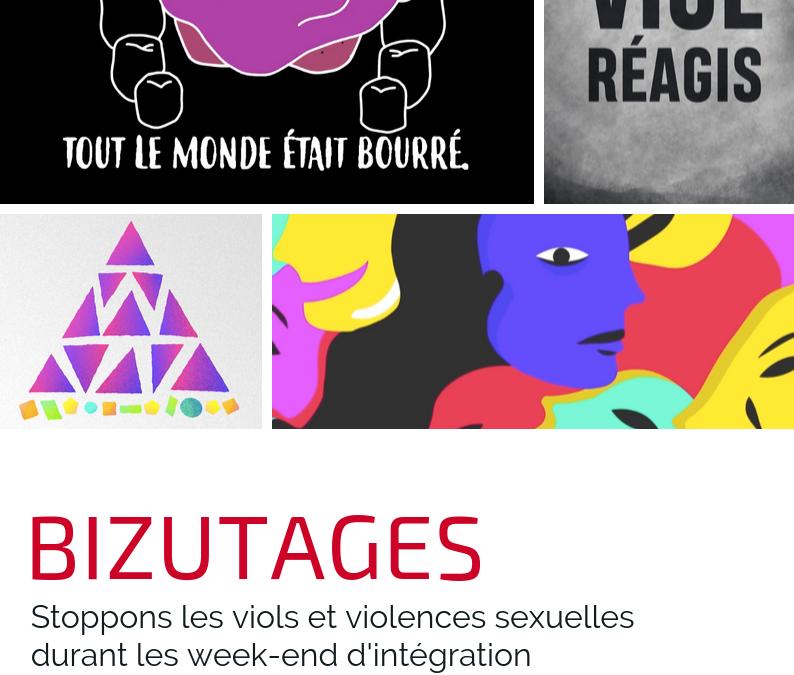 Stoppons les viols durant les week-end d'intégration